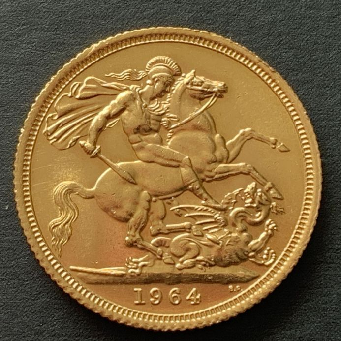 1964 Full Gold Sovereign